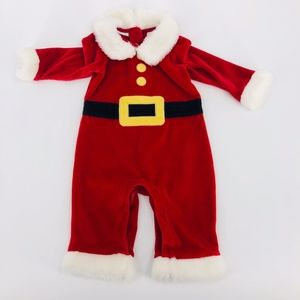 ⛄️ Christmas Santa Claus full body pajamas 3 - 6 m